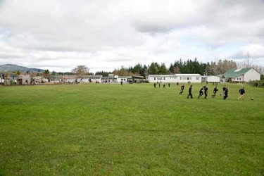 Sports Field Wairakei Primary School2016
