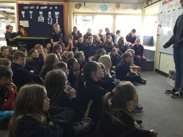 Very engaged Te Mihi students