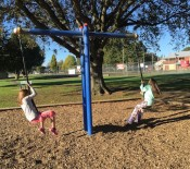 5 Paige and Scarlett enjoy the playground