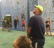 7Seniro school Camp 2016Rock climbing opt