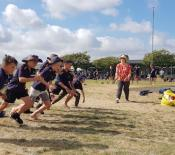 Athletics Te Mihi team Sprints ready set go 05